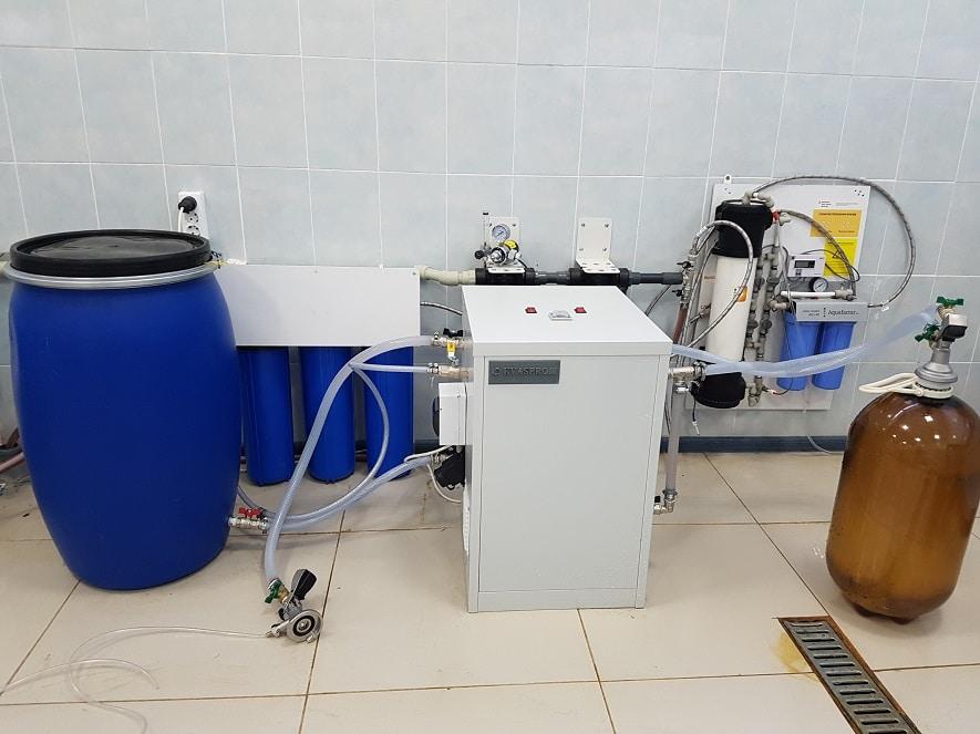 Машина для производства пива. кваса, лимонада. Кваспром
