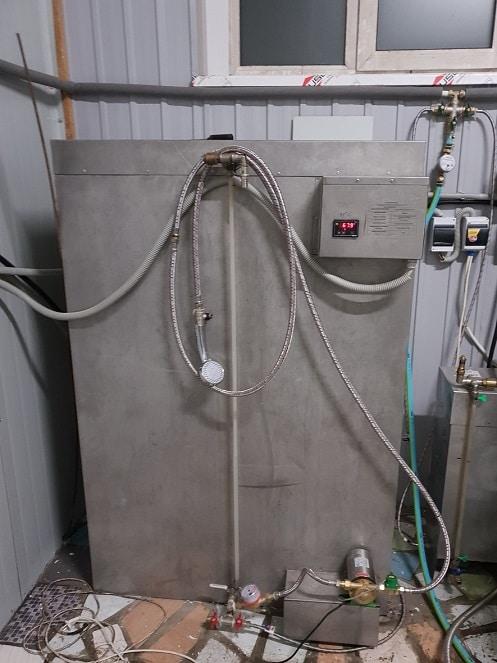 Водогрейный бак. Пивоваренное оборудоавние