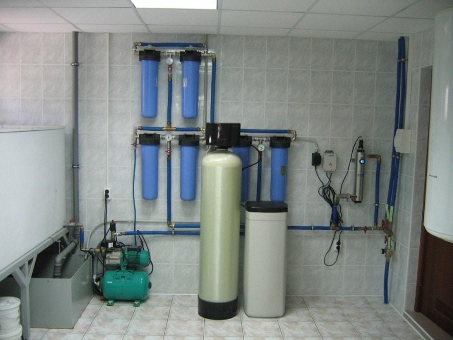 Система водоочистки. Пивоваренное оборудование