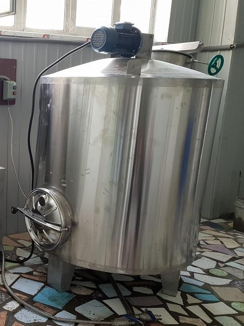 Заторно-фильтровальный чан. Пивоваренное оборудование